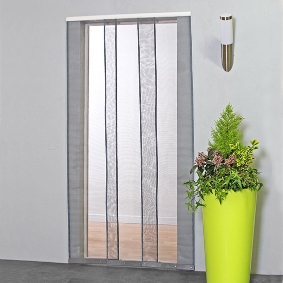 ... Mesh Strip Fly Screen Door Curtains Insect Screens For Doors