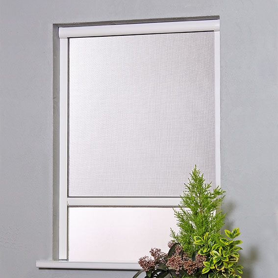 Roller Blind Window Fly Screen Pull Down Flyscreens