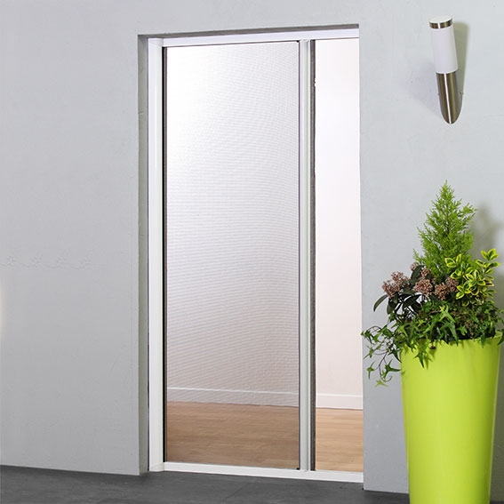Horizontal Roller Blind Door Fly Screen Retractable Insect Screens For Doors