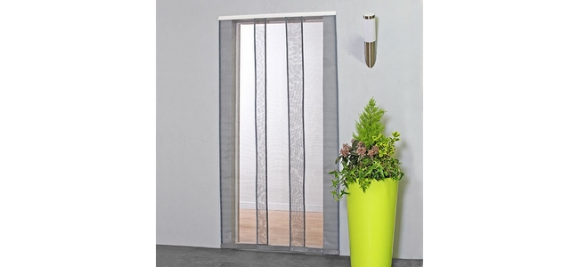 Mesh Strip Fly Screen Door Curtain 100 x 230