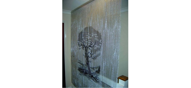 Aluminium Chain Link Room Divider Screens
