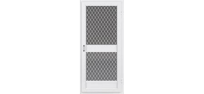 Heavy Duty Aluminium Framed Door Fly Screen