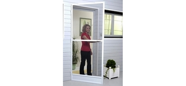 Aluminium Rigid Frame Door Fly Screen