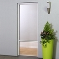 vertical roller blind door fly screen retractable pull
