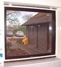 Hinged Aluminium Frame Window Fly Screen - Kit 1 RFW912 White