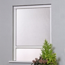 Roller Blind Window Fly Screen - Kit 1 White Alu