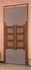 Chain Link Door Fly Screen - Saloon Doors D200