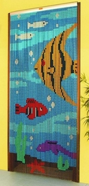 Chain Link Door Fly Screen - Tropical Fish M0486